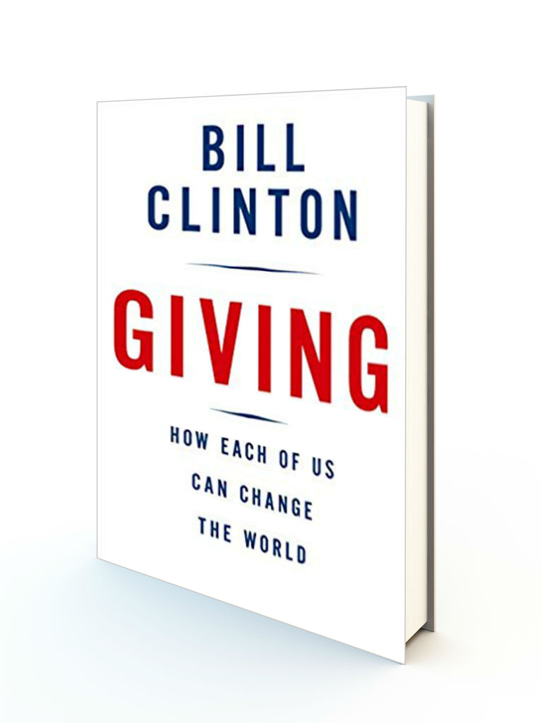 Giving - Bill Clinton - Redemption Store