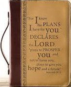 I Know The Plans Bible Cover (Large)