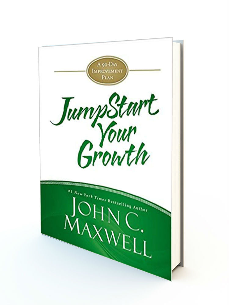 JumpStart Your Growth: A 90-Day Improvement Plan Hardcover - Redemption Store