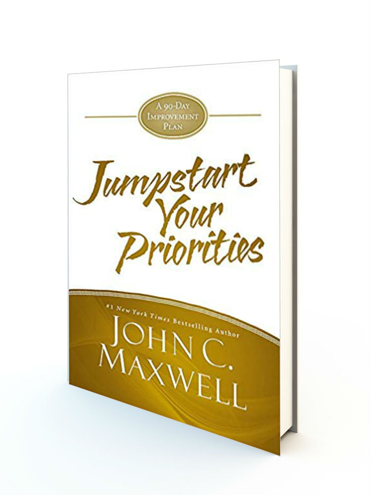 JumpStart Your Priorities: A 90-Day Improvement Plan Hardcover - Redemption Store