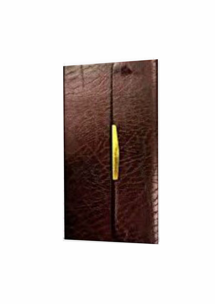 KJV Classic Companion Bible Burgundy Bonded Leather Snap Flap - Redemption Store