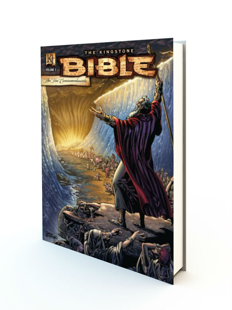 Kingstone Bible Vol. 3 - The Ten Commandments - Redemption Store