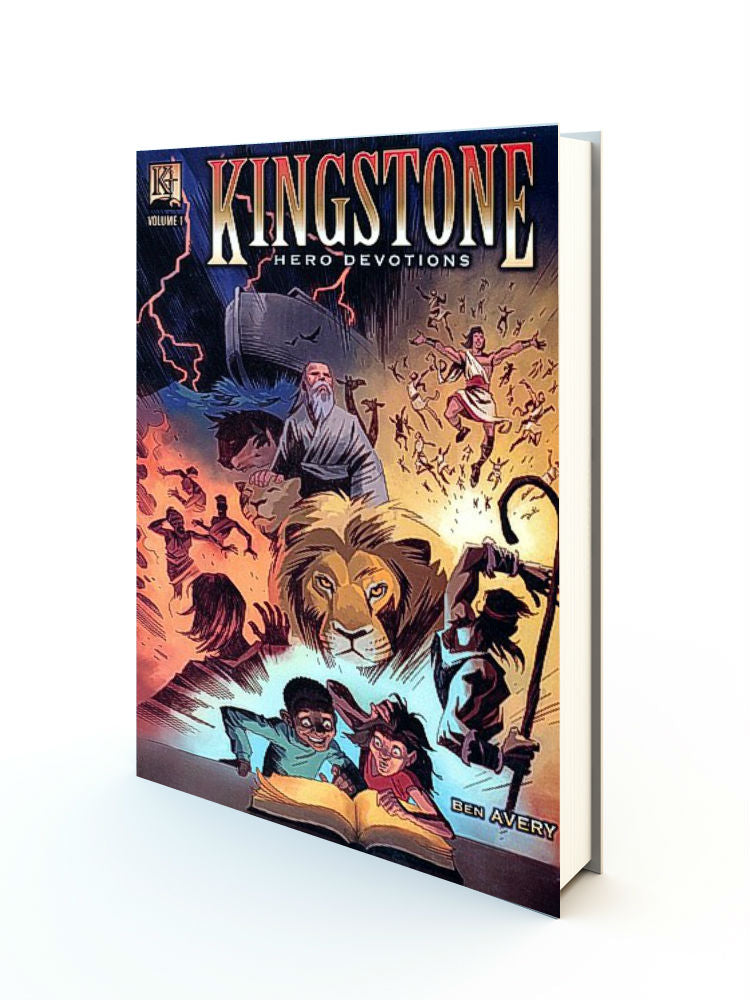 Kingstone Hero Devotions, Volume 1 - Redemption Store