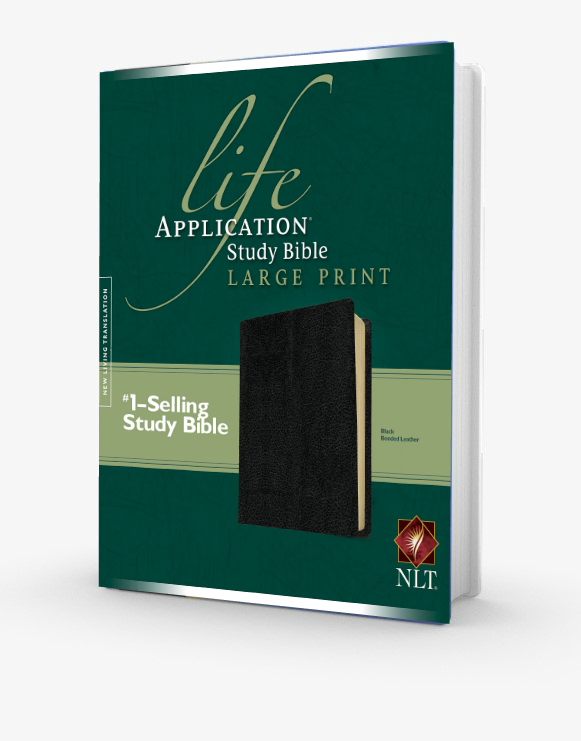 Life Application Study Bible - NLT Large Print