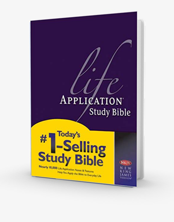 Life Application Study Bible - NKJV Hardback