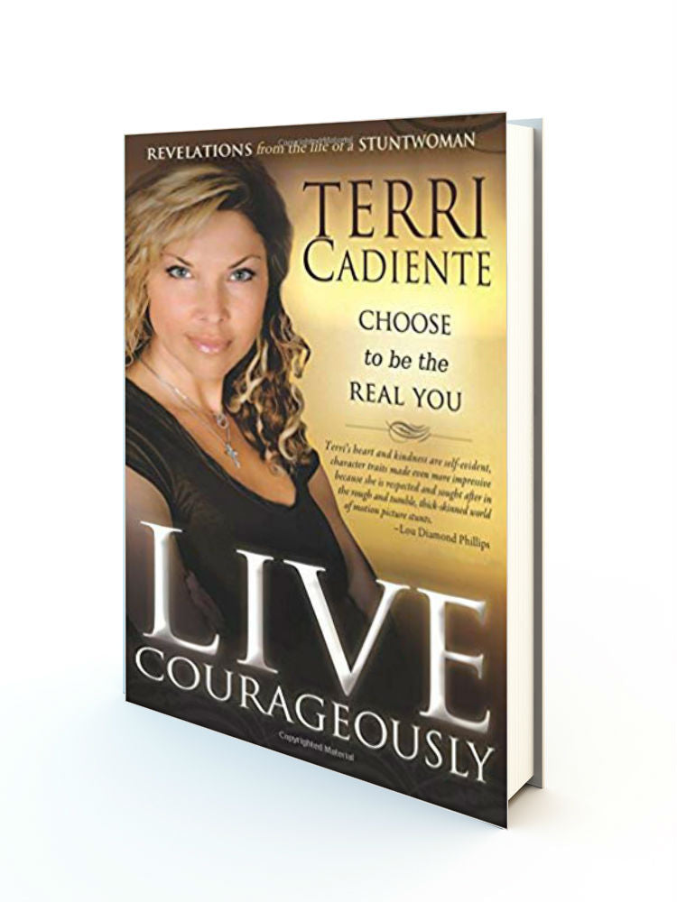 Live Courageously: Choose to be the Real You - Redemption Store