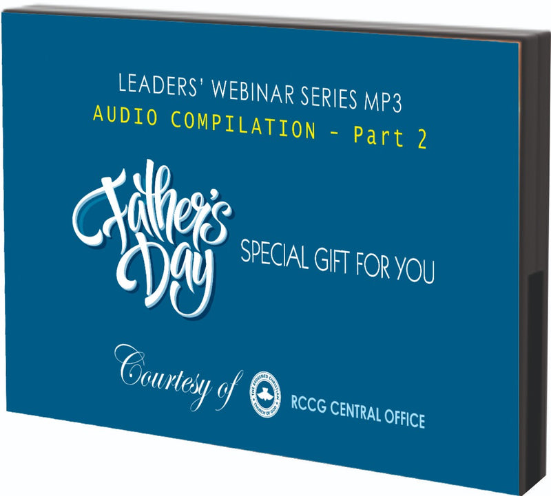 COVID-19 Leaders' Webinar Series- Part 2 - MP3 Download