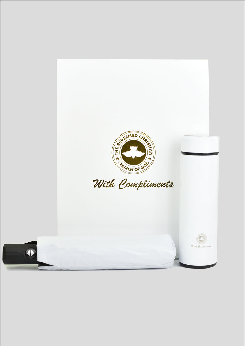 Gift Box Set: Vaccum Mug & Smart Umbrella (Preorder only) - Redemption Store