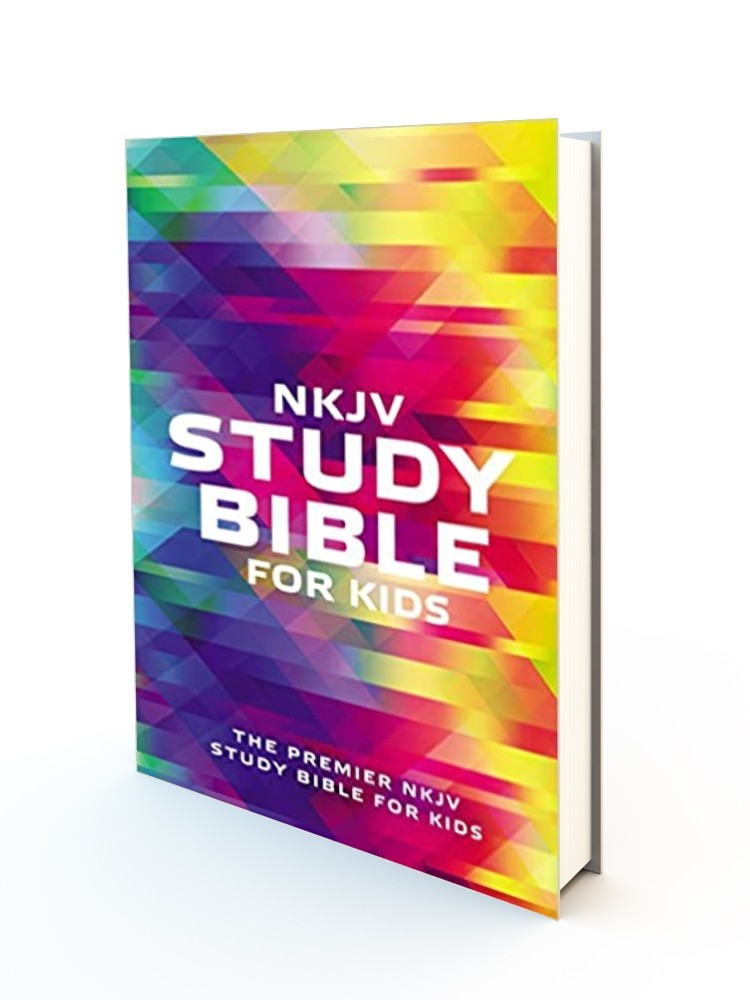 NKJV Study Bible for Kids Paperback