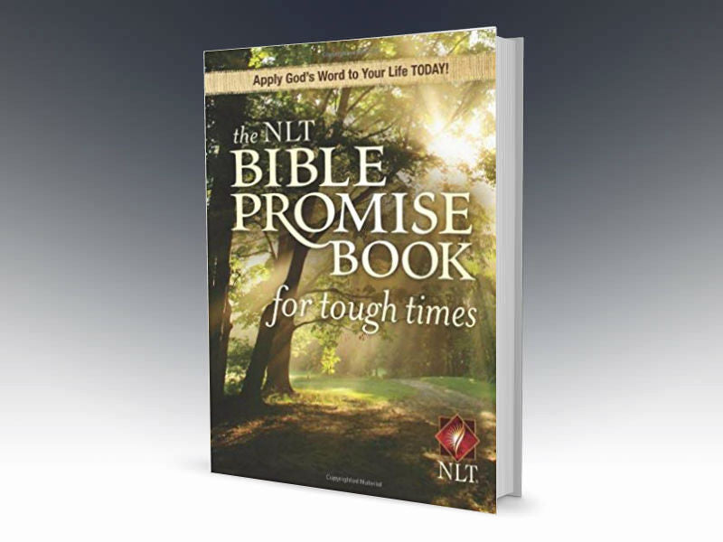 NLT Bible Promise Book For Tough Times Paperback - Redemption Store