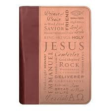 Names of Jesus Bible Cover (Extra Large)