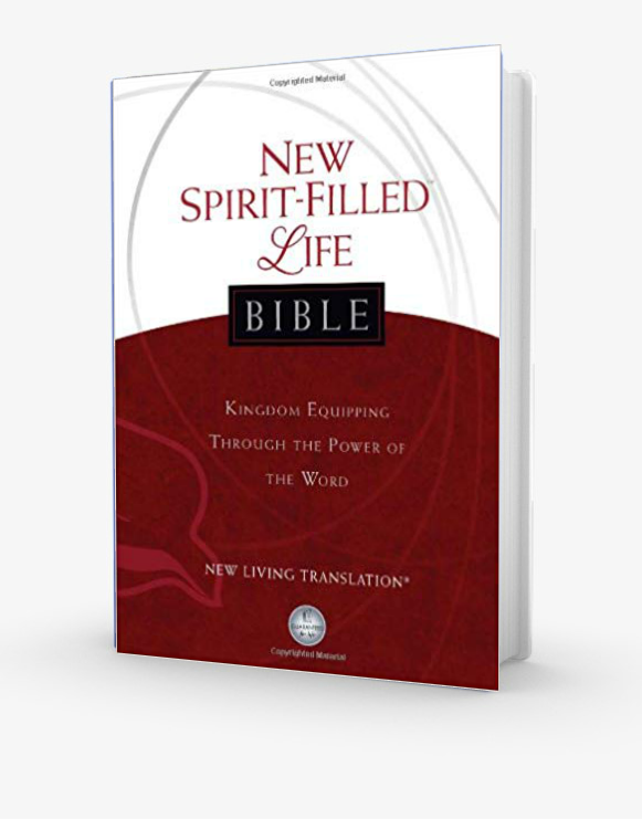 New Spirit-Filled Life Bible - NLT (Hardback)