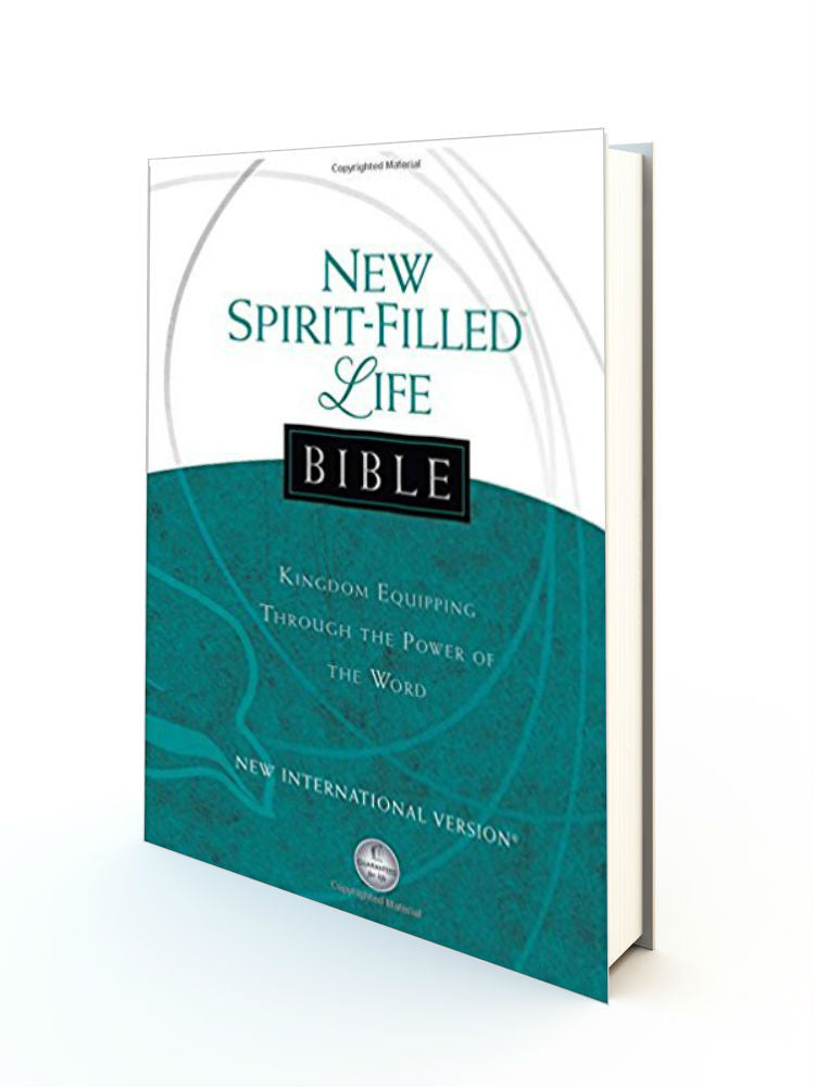 New Spirit-Filled Life Bible - NIV - Hardback - Redemption Store