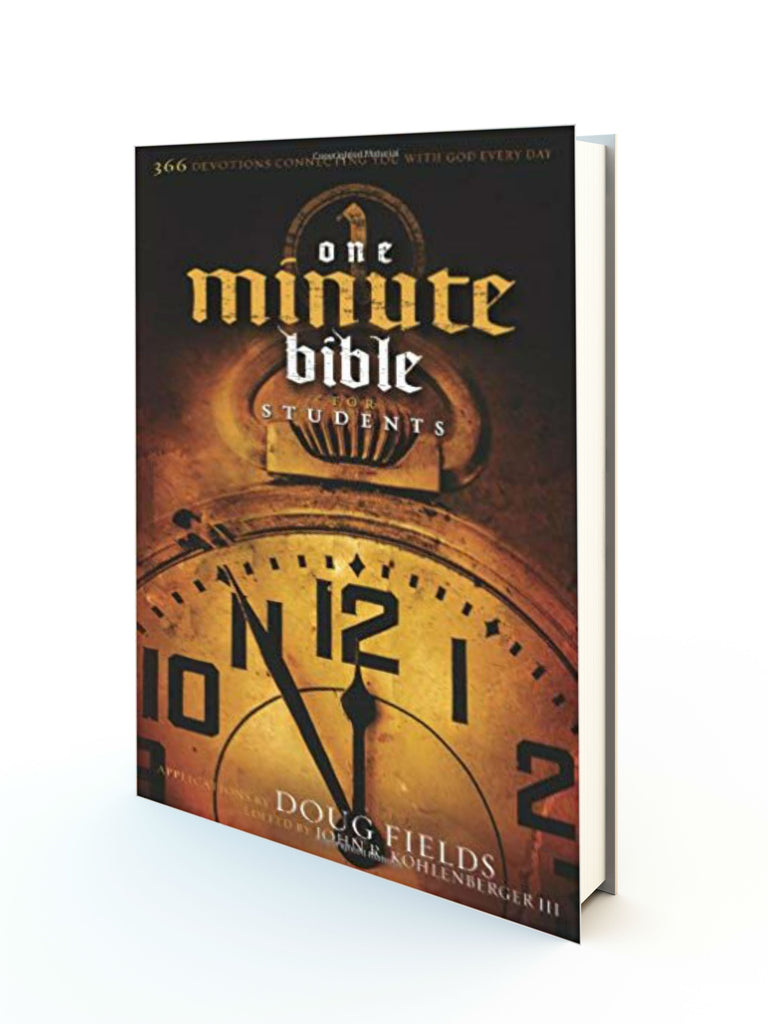 One Minute Bible For Students - Redemption Store