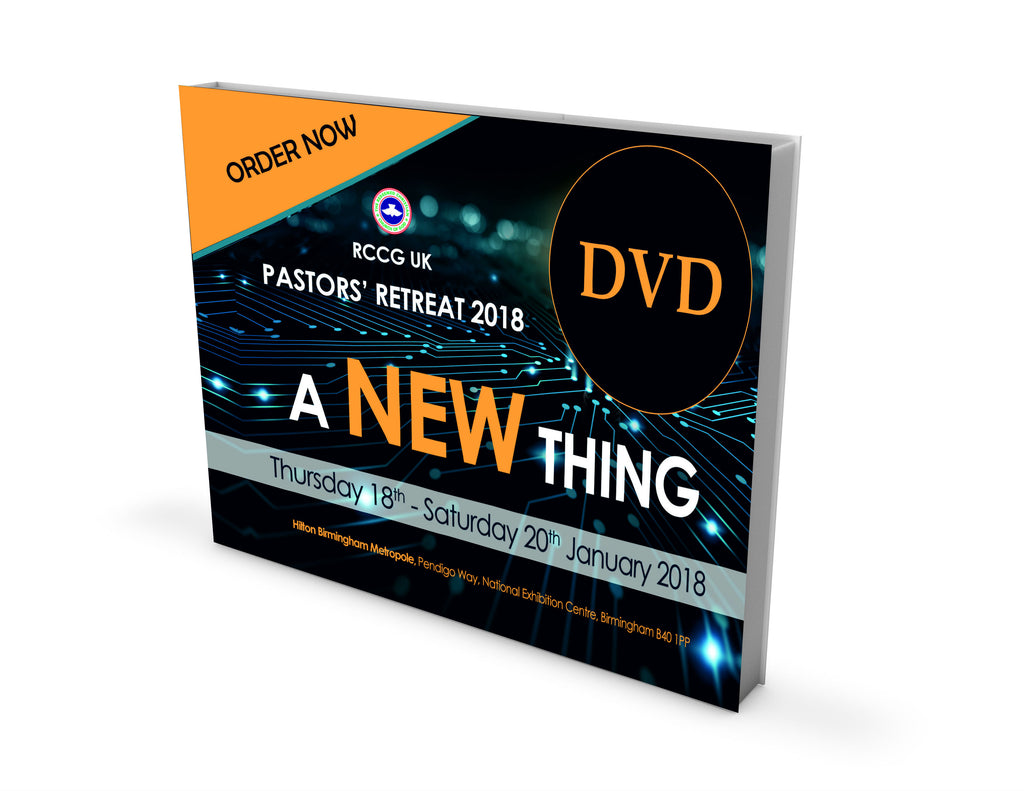 PASTORS' RETREAT JANUARY 2018 - DVD