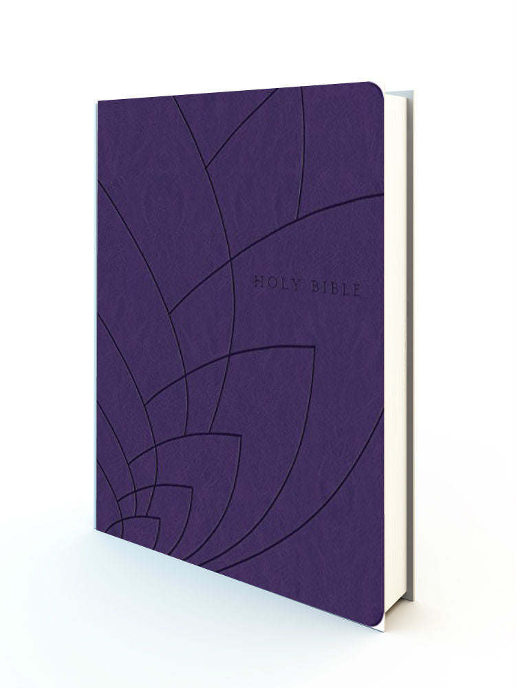 Premium Gift Bible - NLT Purple Leathersoft - Redemption Store