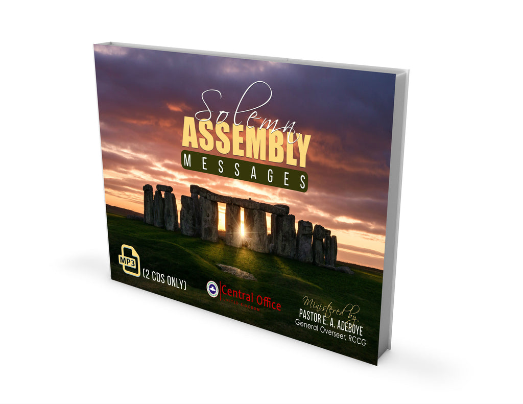 SOLEMN ASSEMBLY 2019 MP3 - Redemption Store
