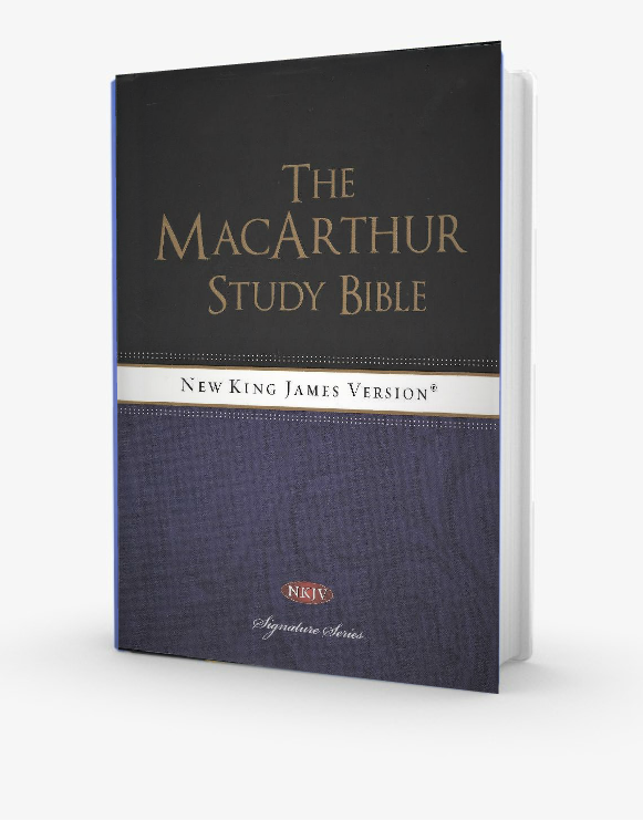 The Macarthur Study Bible-NKJV Hard Back - Redemption Store