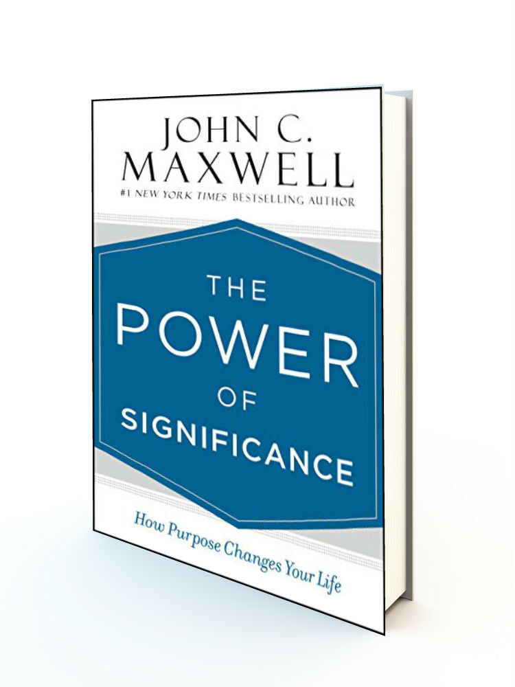The Power of Significance: How Purpose Changes Your Life - Redemption Store