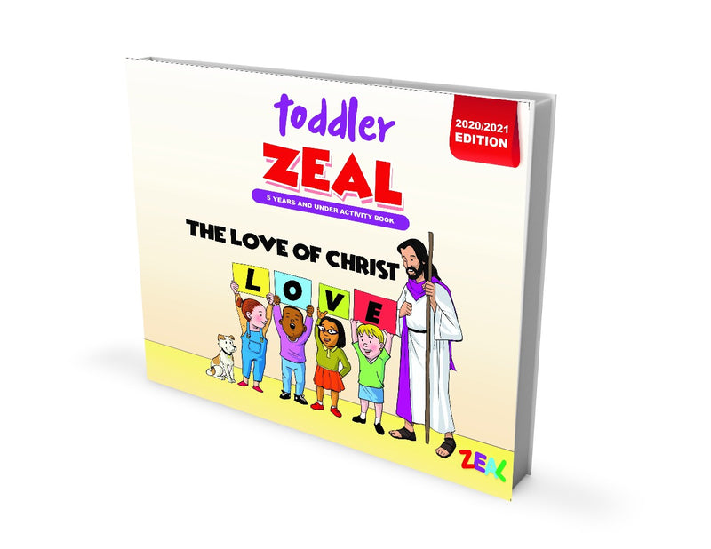 TODDLER ZEAL 0-5 Years (Activity Book 2020-2021 Edition)