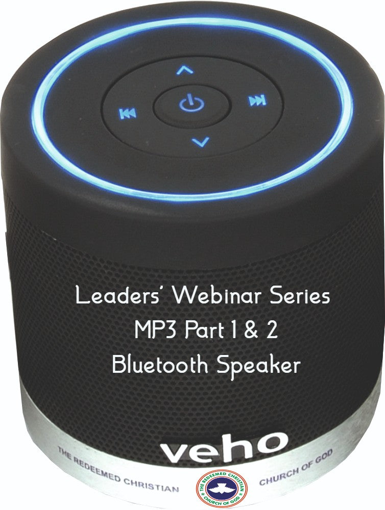 COVID-19 Leaders' Webinar Series Part 1 & 2 (Bluetooth Speaker)