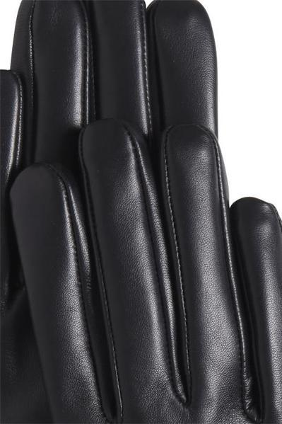 Ichi Helen Leather Studded Fringed Glove