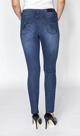 Carreli Jeans Angela Highest Rise Skinny Jean in Dark Stone