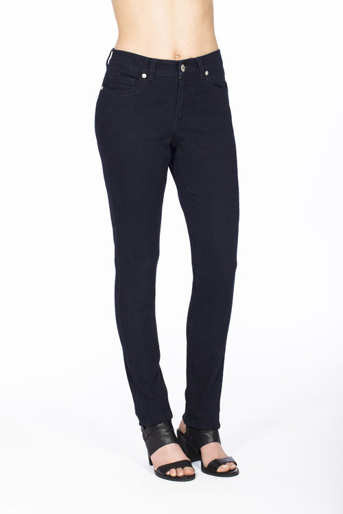 Carreli Jeans Angela Highest Rise Skinny Jean in Solid Blue