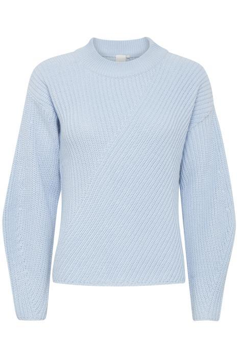 Ichi Kasandra Sweater in Skyway Blue