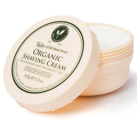 Taylor of Old Bond Street Organic Rasiercreme - No More Beard