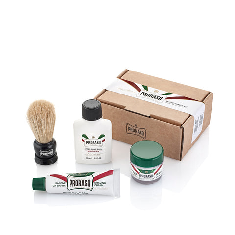 Proraso Travel Shaving Kit - No More Beard
