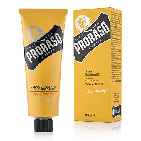 Proraso Shaving Cream Wood & Spice - Rasiercreme - No More Beard