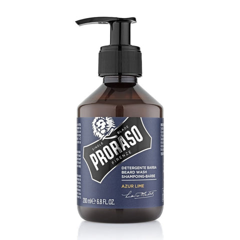 Proraso Beard wash Azur Lime 200 ml - No More Beard