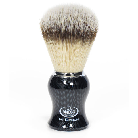 Omega Hi-Brush Kohlefasereffekt, Synthetik-Pinsel - No More Beard