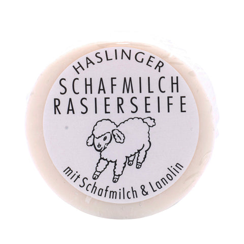 Haslinger Schafmilch Rasierseife - No More Beard
