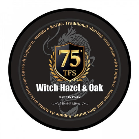 TFS 75th Anniversary Witch Hazel & Oak - Hamamelis & Eiche Rasierseife - No More Beard