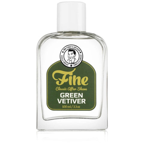 Fine After Shave Green Vetiver - Rasierwasser - No More Beard