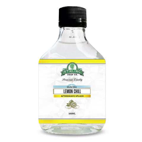 Stirling Glacial Lemon Chill Aftershave Splash - Rasierwasser - No More Beard