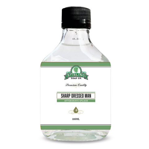 Stirling Sharp Dressed Man Aftershave Splash - Rasierwasser - No More Beard