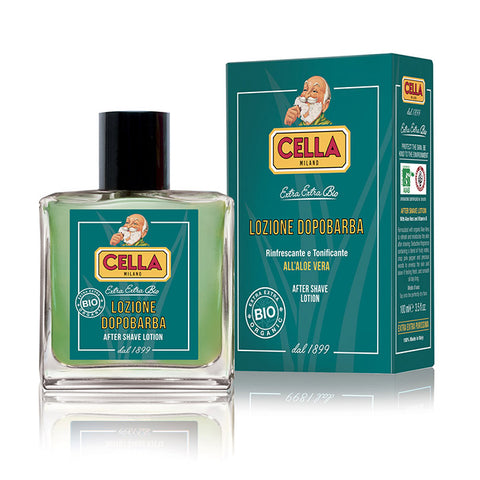 Cella Bio Aftershave mit Aloe Vera - No More Beard