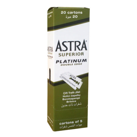 Astra Superior Platinum Rasierklingen - No More Beard