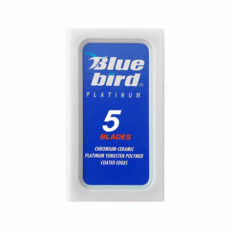 Blue bird double edge razor blades - No More Beard