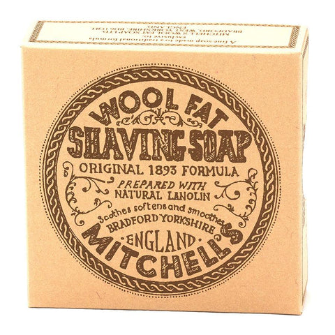 Mitchell's Wool Fat Soap Rasierseife - No More Beard