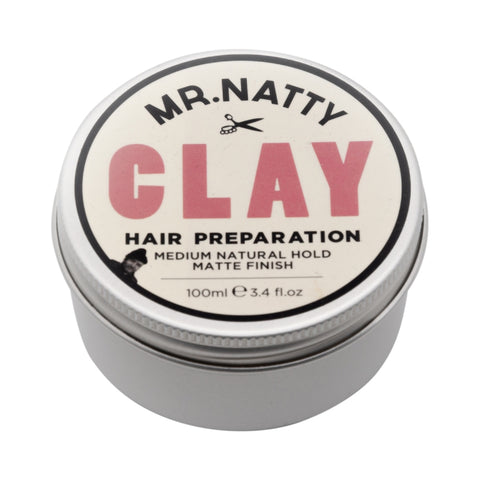 Mr Natty Hair Clay Preparation Haarpaste - No More Beard