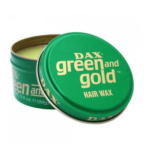DAX Green & Gold Haarwachs - No More Beard