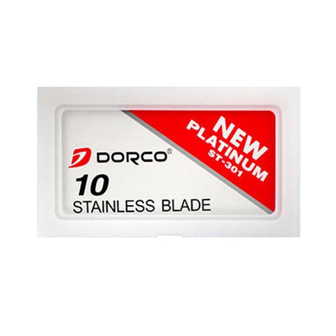 Dorco New Platinum ST301 Rasierklingen - No More Beard