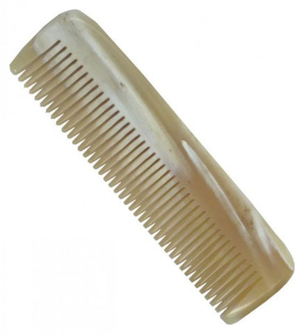 DOVO Horn Beard Comb - Fine Teeth - No More Beard