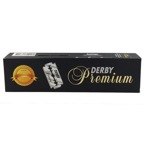 Derby Premium Rasierklingen - No More Beard