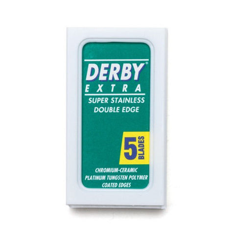 Derby Extra double edge razor blades - No More Beard