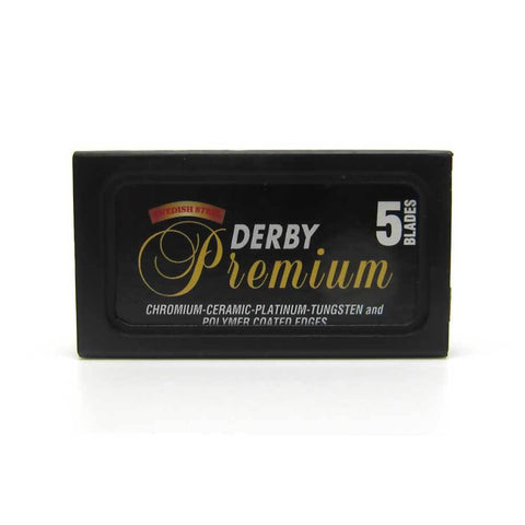 Derby Premium double edge razor blades - No More Beard